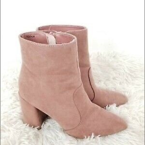 Charlotte Russe Suede Ankle Booties
